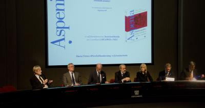 Presentation of Aspenia 63, Milan, January 27, 2014