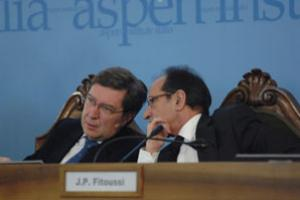 Enrico Giovannini and Jean-Paul Fitoussi