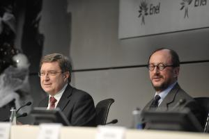 Enrico Giovannini and Angelo Maria Petroni