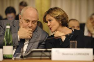 Mario Giro and Beatrice Lorenzin