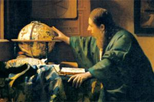 L'astronomo-Vermeer (Science Photo Library)